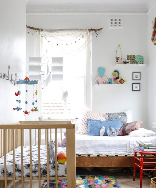 This gorgeous rooms belongs to the son ofNicole Valentine Don (nicolevalentinedon.com, Could it be more perfect?